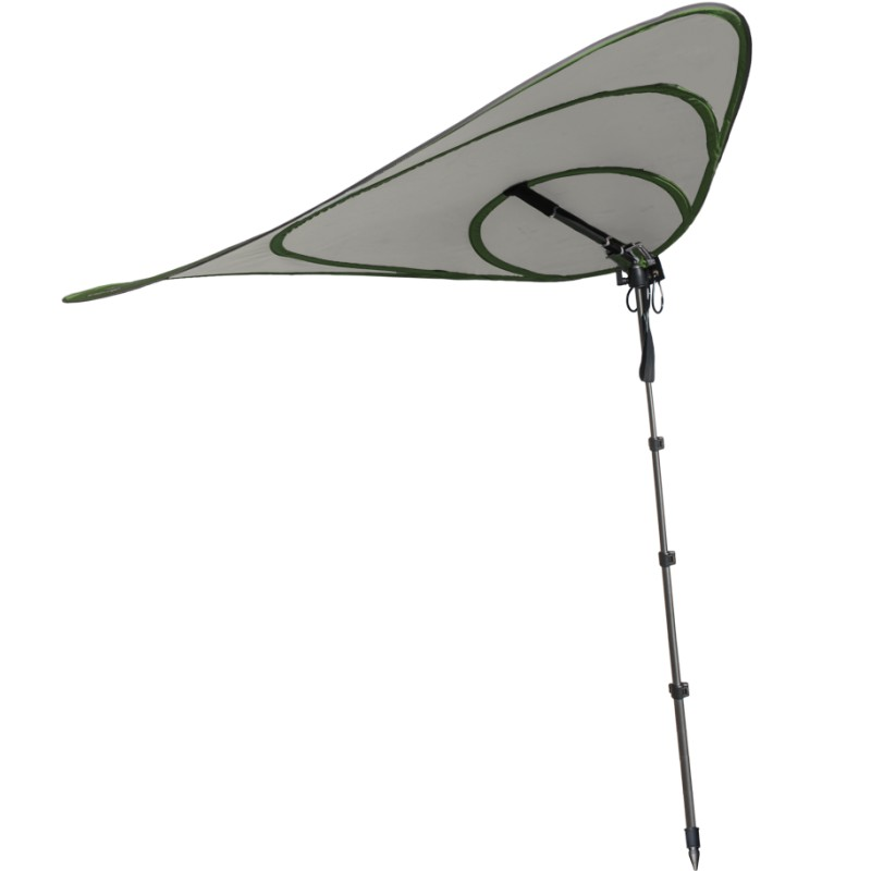 voile d 39 ombrage sun leaf parasol nomade avec panneau. Black Bedroom Furniture Sets. Home Design Ideas