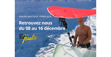 Leaf for life at Yachting Exhibition in Paris from 08th to 16th of December 2018