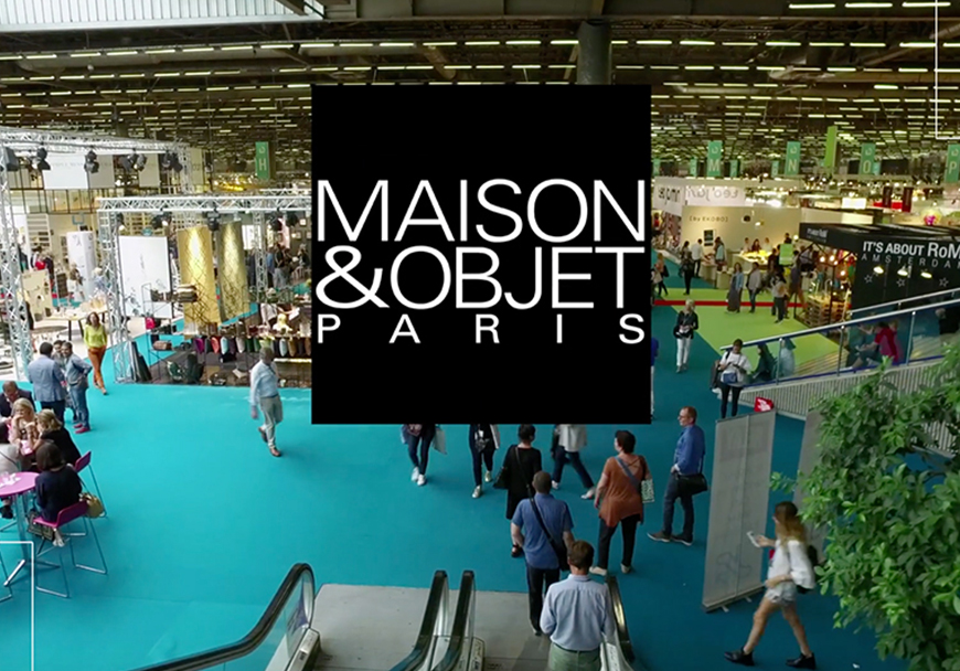 Leaf for life at Maison et Objets Exhibition in Paris from 18th to 22nd of January 2019